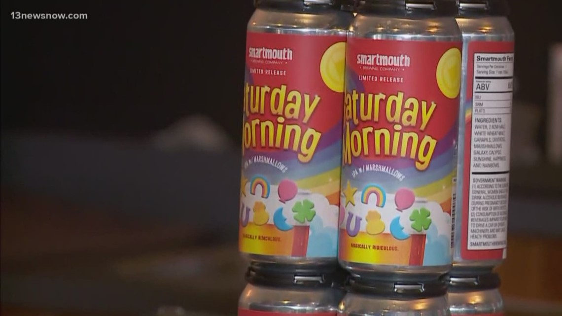 Smartmouth Brewing Company Creates Lucky Charms Inspired