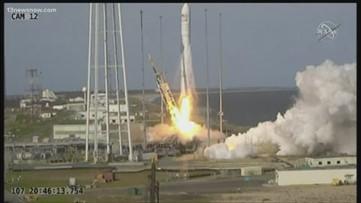 NASA launches rocket from Wallops Island