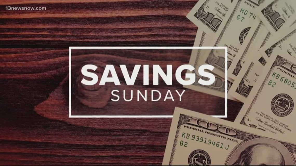 Savings Sunday deals of the week for November 17, 2019