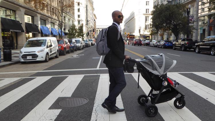 MAKING A MARK: Virginia Beach father designs diaper bags for dads
