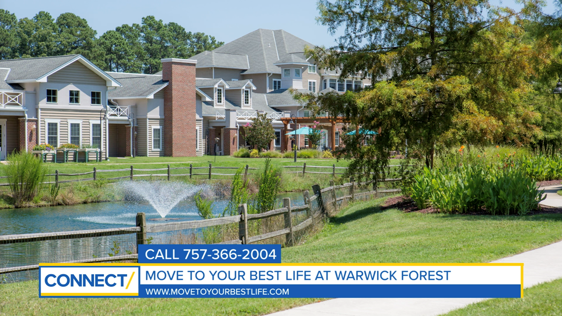 CONNECT with Liz Moore & Associates: Move to your best life at Warwick Forest Retirement Community