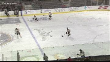 Admirals win at home against Stingrays