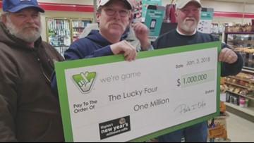 Friends win million dollar lottery raffle   13newsnow com