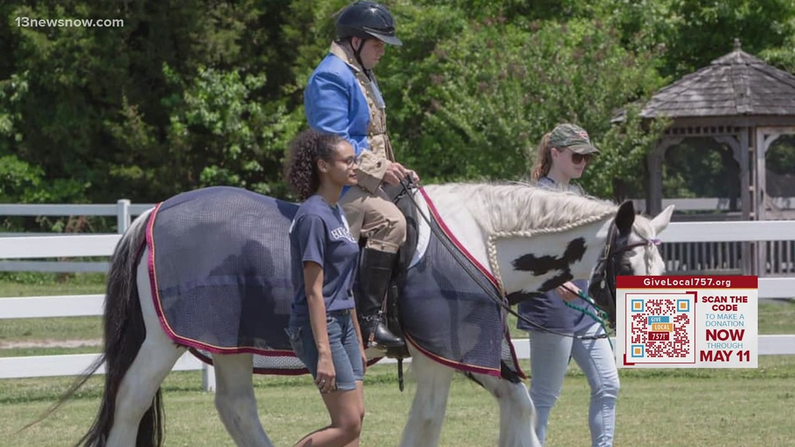 Making a Mark: Equine therapy helps children, veterans