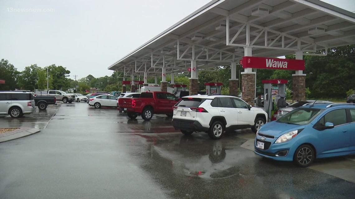 Gas Shortage in Hampton Roads