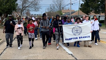 March in Hampton marks 51 years since MLK's death