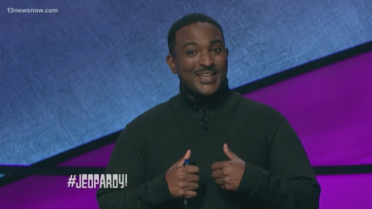 A software engineer from Virginia Beach competed on last night's Jeopardy
