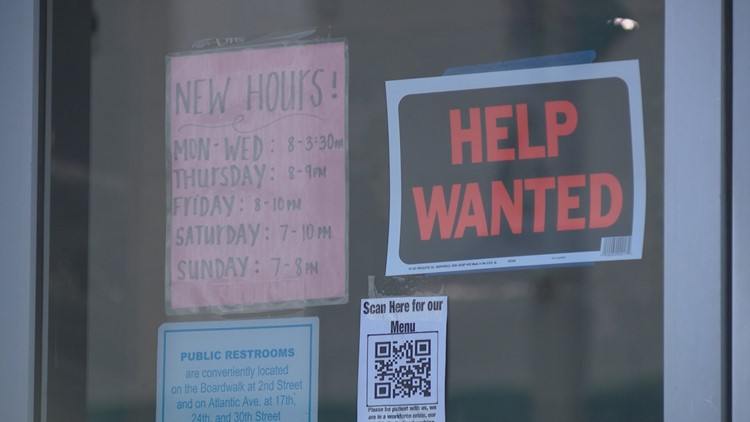 Businesses near Virginia Beach Oceanfront notice slight increase in staffing