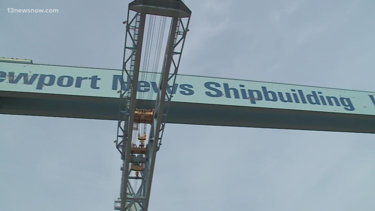 Newport News Shipbuilding requiring employees to wear masks indoors, covered facilities