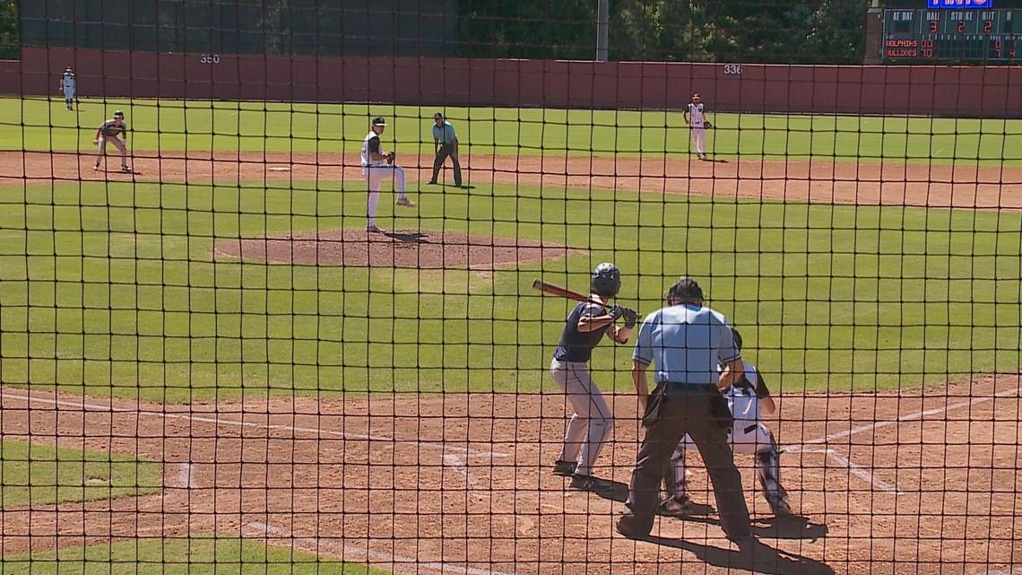 Lafayette baseball wins states. Ocean Lakes and Tabb fall short