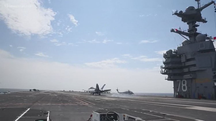 USS Gerald R. Ford faces questions from Pentagon