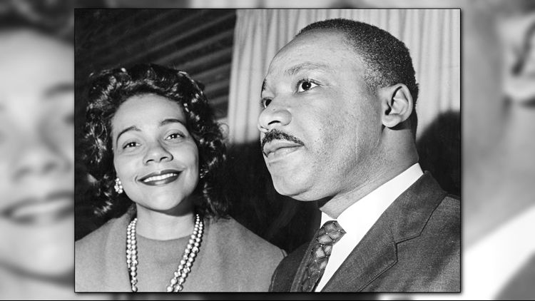 mlk coretta scott king