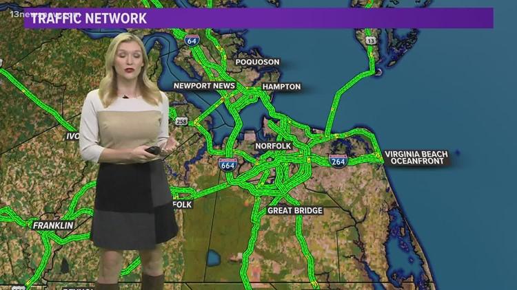 Construction in Hampton Roads: some three-lane closures coming
