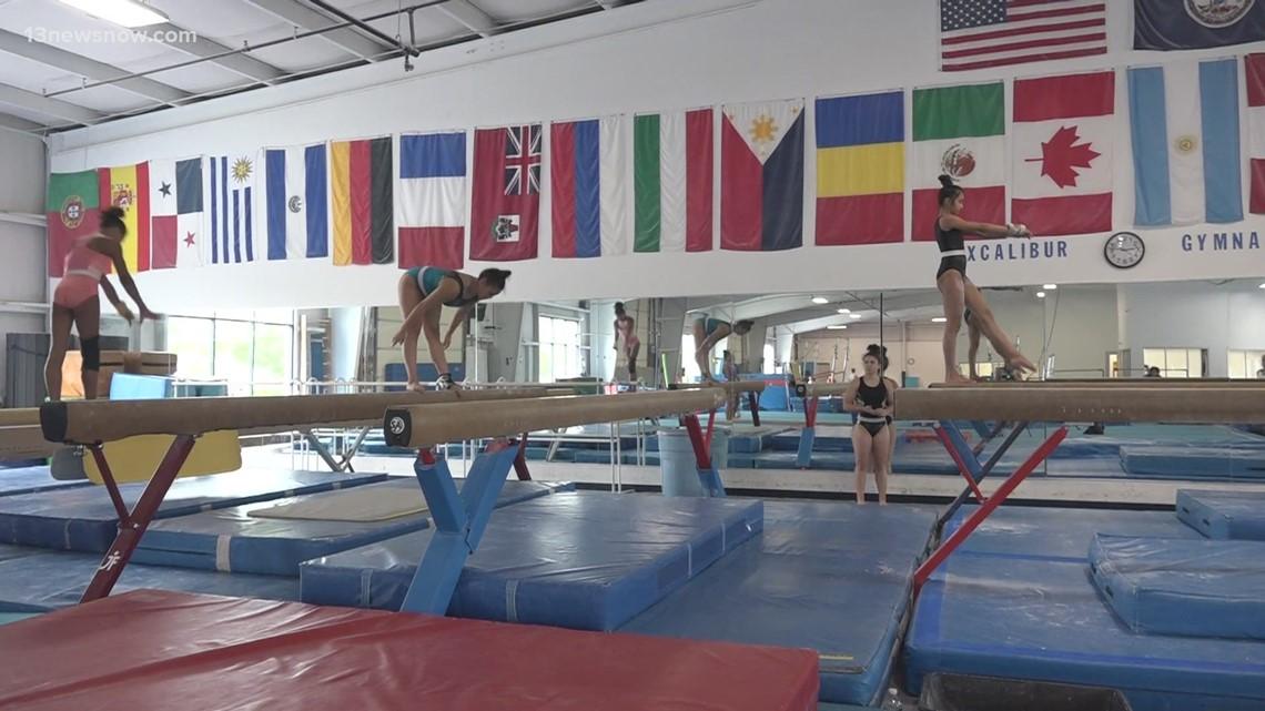 Hampton Roads gymnasts share support for Simone Biles
