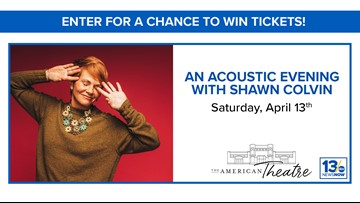 Shawn Colvin sweepstakes rules