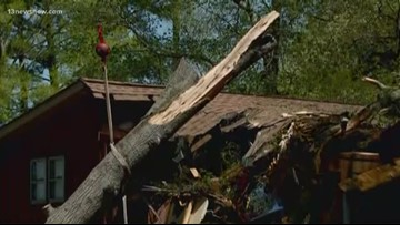 Overnight storm causes damage in James City County