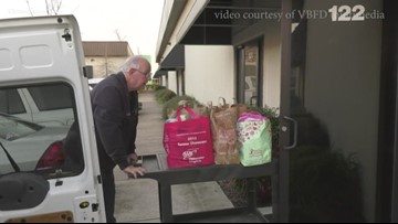 Virginia Beach Fire Department works to extinguish hunger