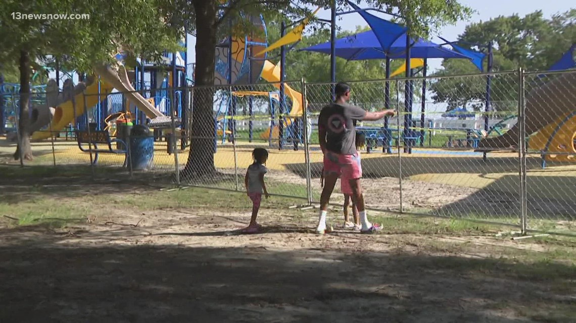Portsmouth gets new playground at city park