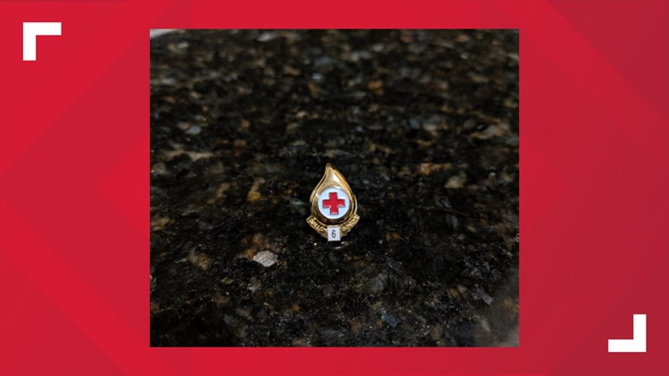 isaac needell red cross donation milestone ring