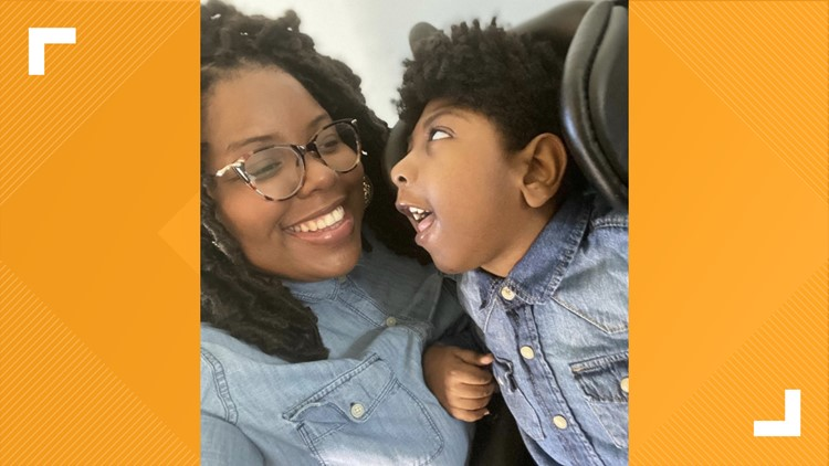 MAKING A MARK: Mom writes children's book for son with cerebral palsy