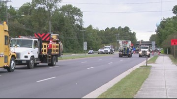 Major sewage leak shuts down section of Kempsville Road in Chesapeake