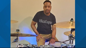 MAKING A MARK: Chesapeake drummer living with lupus shares story to inspire others