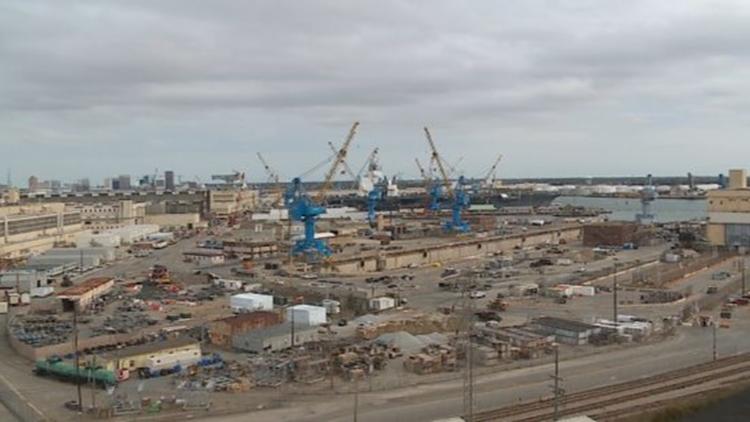 Biden returns $26M in border wall money to Norfolk Naval Shipyard