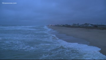 Nor'easter rattles the Outerbanks