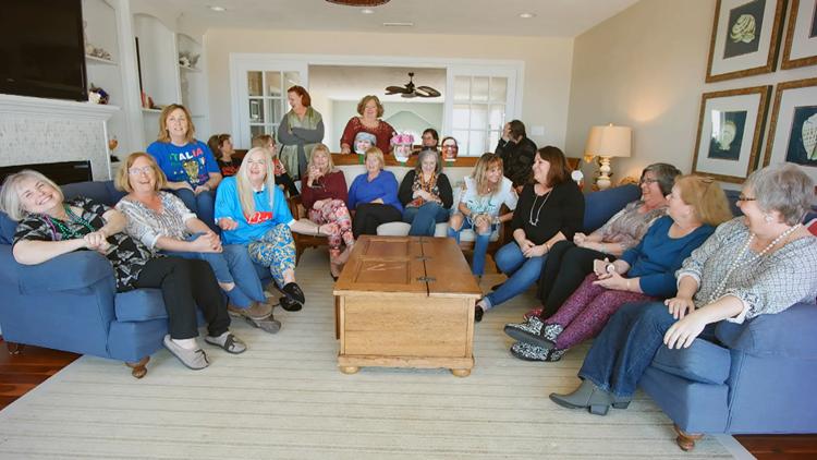Sisterhood spanning four decades reunites in Sandbridge