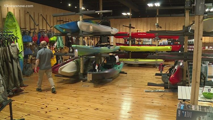 Kayaks in high demand; two to six month wait at some stores