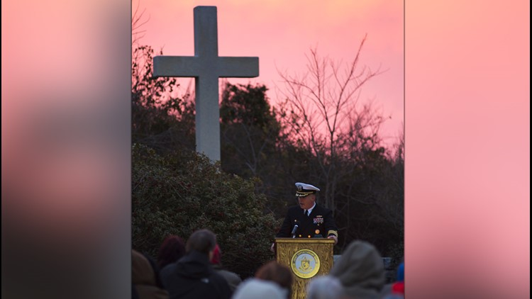 Navy reminds public its Easter sunrise service is open to all