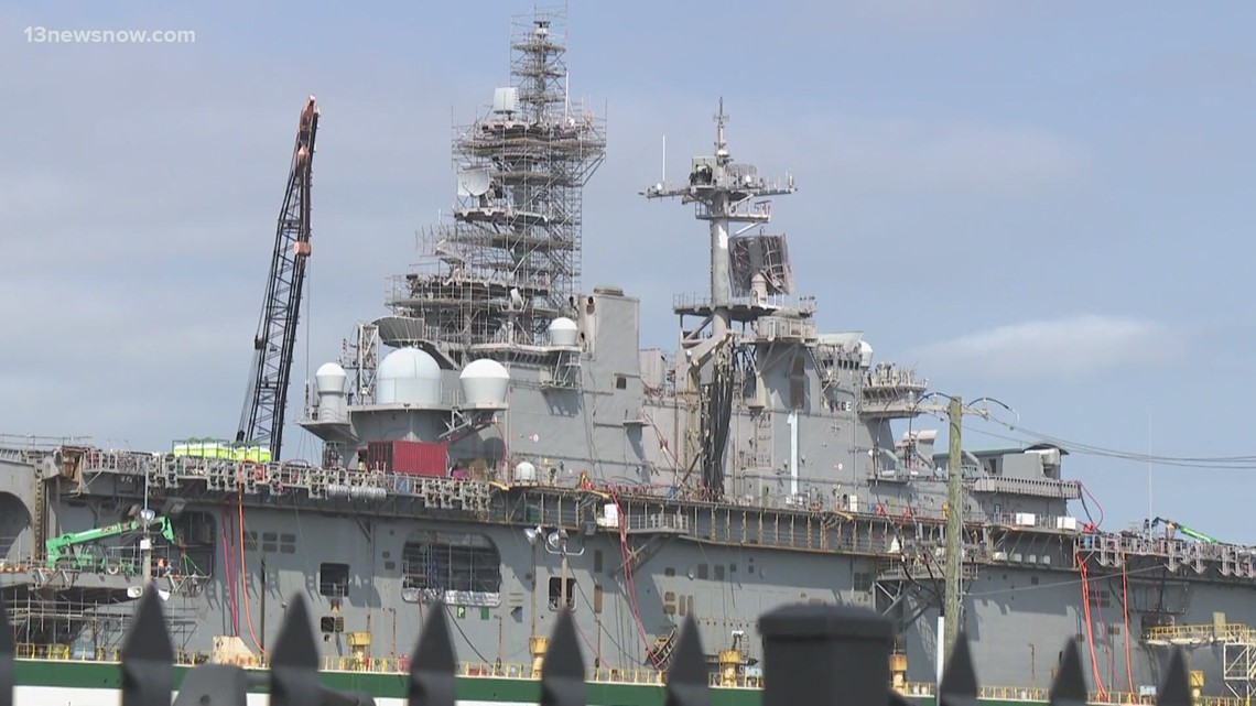 Rep. Elaine Luria expresses ship repair concerns