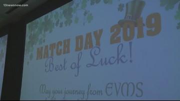 EVMS graduates celebrate Match Day