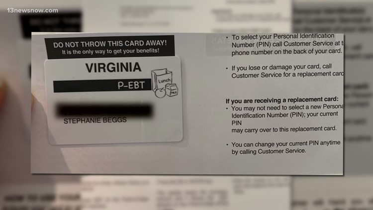 Glitch sends food assistance cards to wrong Chesapeake students