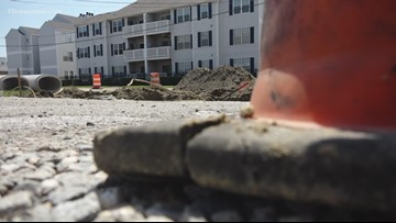 Oceanfront businesses struggling due to roadwork