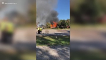 Community reacts after fire destroys popular 'Cotton Gin' gift shop in Currituck County