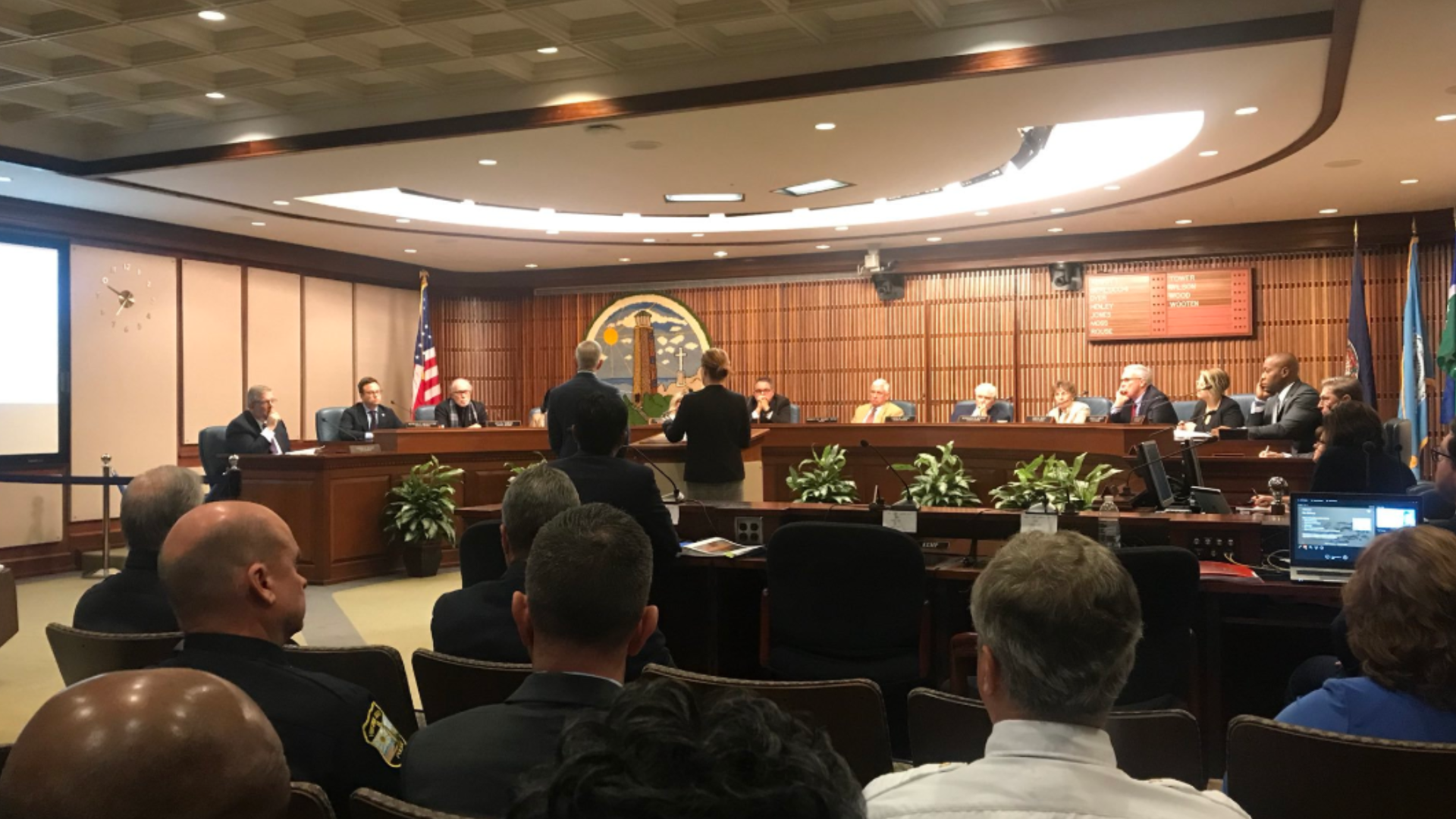 On July 2, Virginia Beach city council approved a resolution for an independent investigation into the shooting and by July 17, Hillard Heintz was chosen from 15 other firms to conduct the investigation. Hillard Heintz sent an 11 person team to look into the mass shooting. The investigation began on July 22.