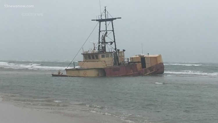 Abandoned ship near Oregon Inlet to be removed