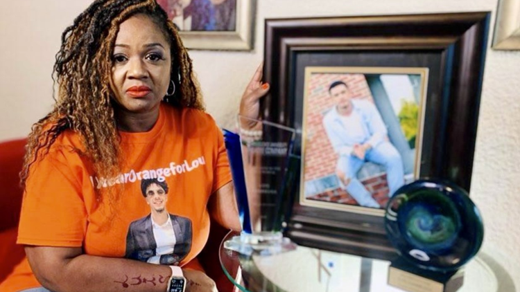 MAKING A MARK: Mother spreads gun violence awareness in her son's honor