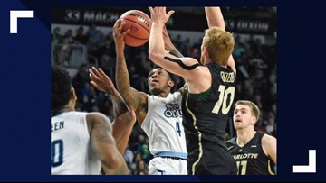 Caver's 20 pts leads ODU past 49ers for 5th straight win