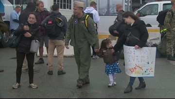 Hospital ship USNS Comfort back home from 5-month deployment