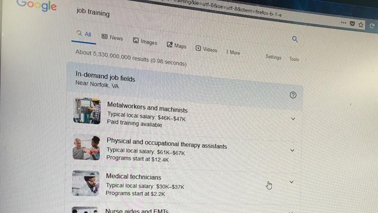 Hampton Roads, Richmond become pilot markets for Google job search feature