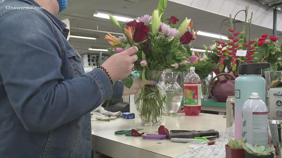 Despite national flower shortage, Norfolk florist hard at work for Mother's Day