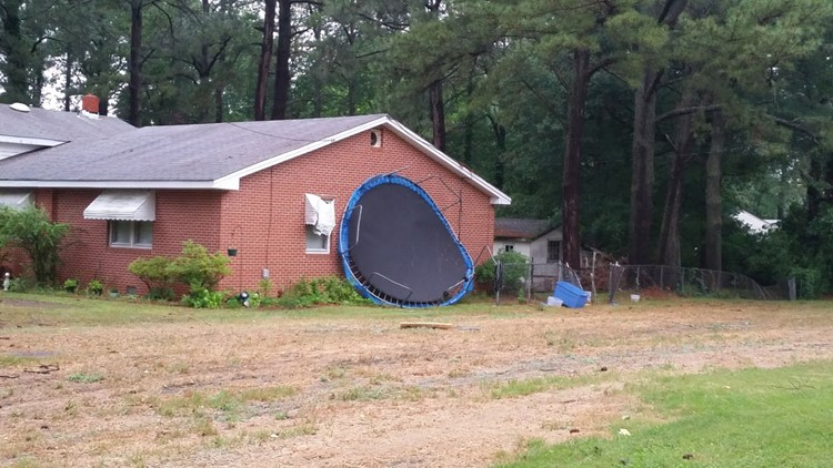 How to secure a trampoline in a hurricane
