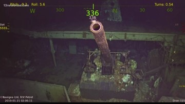 WWII aircraft carrier's final resting place discovered