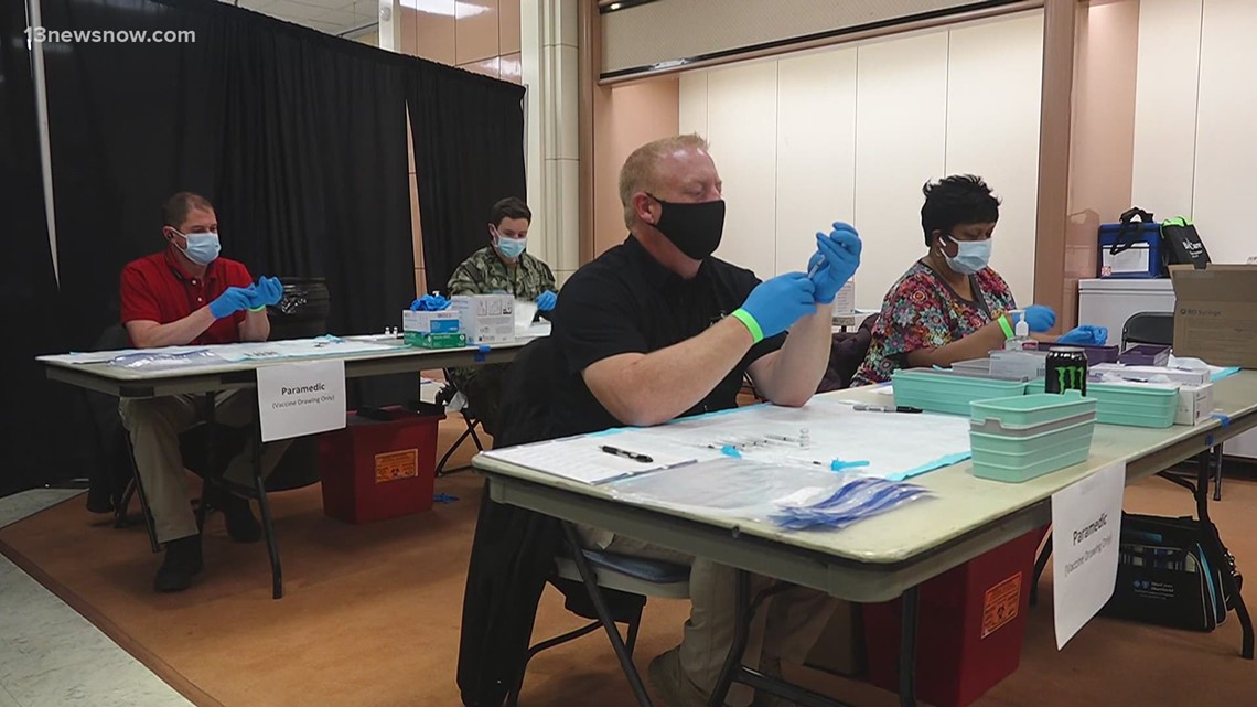Military Circle Mall Vaccine Clinic Extending through August