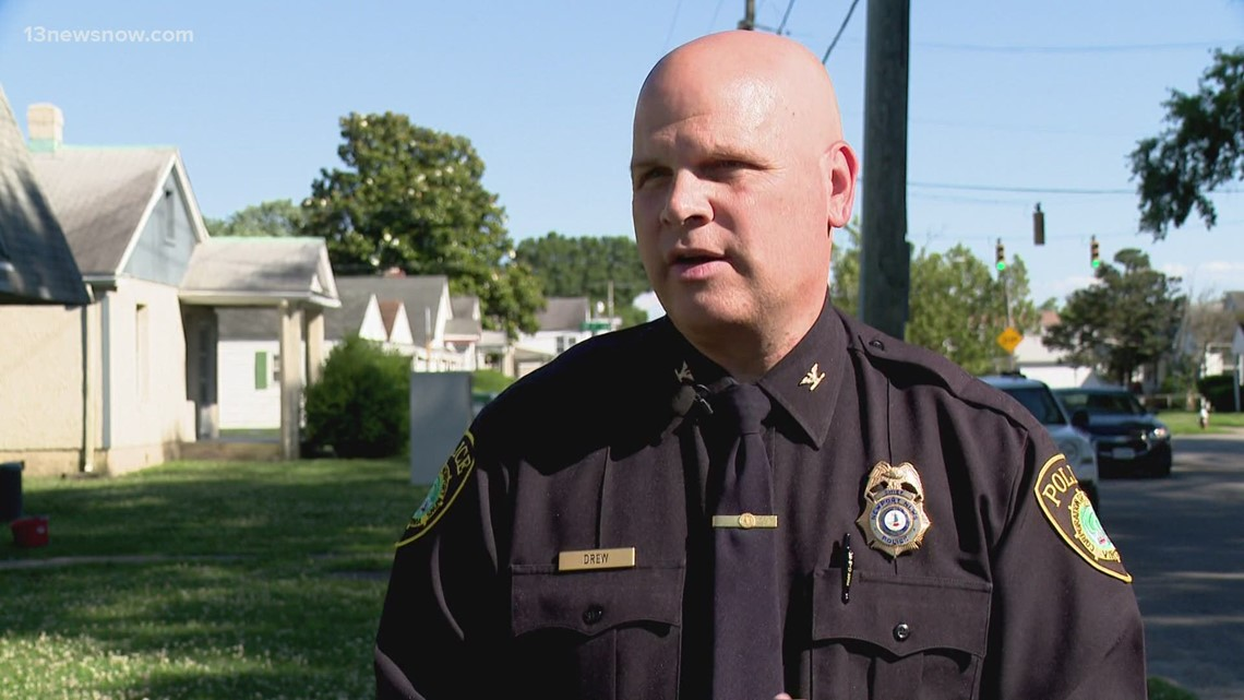 Newport News Police Chief Steve Drew continues 'walk & talk' outreach in neighborhoods