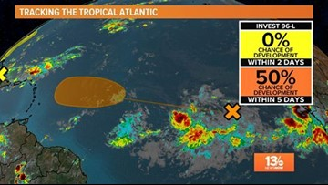 Tropical Update: All remains quiet
