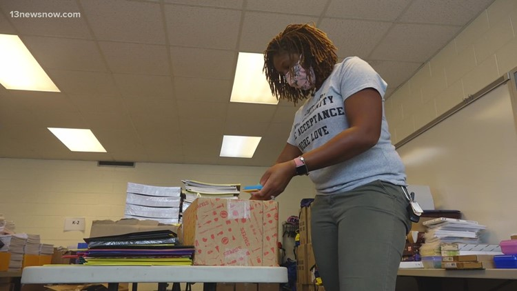 Donors give first-year Virginia Beach teachers much-needed supplies