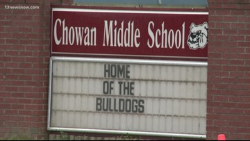 Snake bites student inside North Carolina middle school